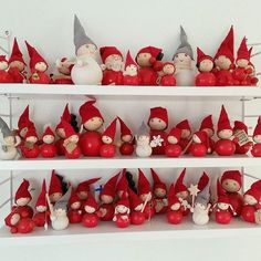 shared her collection of Aarikka elves. Nordic Christmas, Little Christmas, Christmas Elf, Christmas Crafts, Christmas Ornaments, Elves And Fairies, Advent, Merry Christmas Everyone, Diy And Crafts