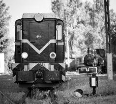 Vintage locomotive, Museum, Bytom; Photo: Jacek Durski