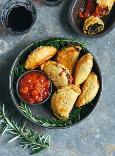 Great for vegetarians and meat-lovers alike, these mini spinach pies make a great summer lunch or snack with drinks.