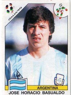 José Basualdo - Argentina Football Icon, World Football, Football Soccer, Player Card, Football Stickers, Great Names, National Football Teams, Fifa World Cup, Vignettes