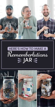 A rememberlutions jar is a fantastic alternative (or addition!) to New Year's resolutions.