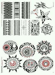 Samoan moon symbols