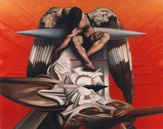Moreno Bondi, accordi di luce, olio su lino, 200x250