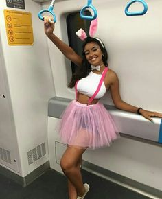 Fantasias de Carnaval – já escolheu a sua? Group Halloween Costumes, Halloween Outfits, Festival Looks, Halloween Disfraces, Costume Makeup, Tumblr Girls, Festival Outfits, Sexy Hot Girls, Creations