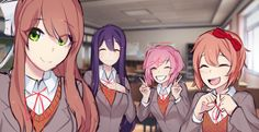 Doki Doki Wholesome Club : DDLC