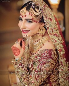 bridal jewelry for the radiant bride Pakistani Bridal Jewelry, Bridal Mehndi Dresses, Bridal Dress Design, Bridal Lehenga, Indian Bridal, Bridal Jewellery, Wedding Dresses, Bridal Skirts, Wedding Outfits
