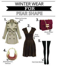 This trench coat dress and necklace are perfect pieces for a triangle body shape. Be careful wearing this purse over your shoulder. You'll want to length of it to hit at your waist, not at your hip. Pear Shaped Dresses, Pear Shaped Outfits, Cool Winter, Winter Wear, Beyonce, Rihanna, Fashion Mode, Fashion Outfits, Rock Chic