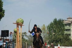 Murat Çıtak     Mounted Archery and History of Istanbul Equestrian Martial Arts Club  This looks like fun. Reminds me of when I use to do Pony Express a re-enactment.