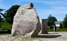The Jelling mounds, runic stones and church were inscribed on the World Heritage List in 1994.