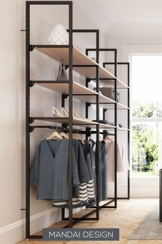 Set up the fashion store with the Addison shelving system - Building Furniture, Diy Furniture Projects, Furniture Design, Wardrobe Room, Wardrobe Design Bedroom, Wardrobe Ideas, Home Decor Bedroom, Diy Home Decor, Closet Renovation