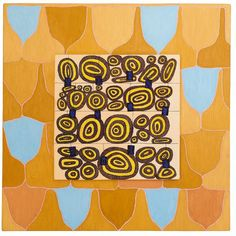Marika Mäkelä: Salainen puutarha, Claire de Lune (2014). Öljy, akryyli, metallipigmentti ja kimalle puulle. Visual Arts, Contemporary Art, Artists, My Favorite Things, Holiday Decor, Inspire, Paintings, Inspiration, Art