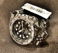 Awesome watches always look great. Make extra mullah in your free time, to get more of what you want! Best Watches For Men, Luxury Watches For Men, Cool Watches, Wrist Watches, Affordable Watches, Expensive Watches, G Shock Watches, Sport Watches, Seiko Watches