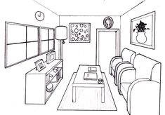 Dream Room In 1 Point Perspective - Lessons - TES Teach