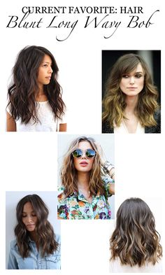 Bob hairstyles are a classic look that has been in fashion for ages, and is sure to continue to be popular look for many years to come! It can be bold, wild and bold look for those who are not afraid to… Continue Reading → Long Blunt Haircut, Long Bob Hairstyles For Thick Hair, Stacked Bob Hairstyles, Haircut For Thick Hair, Bob Haircuts, Long Bob Wavy Hair, Long Hair Cuts, Short Cuts, Curling Hair With Wand