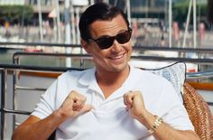 d818fc72f9a Leonardo DiCaprio Jordan Belfort The Wolf of Wall Street RayBan Wayfarer  Sunglasses Celebrity Picture Ray Ban Sunglasses  From Cinema to Celebrity  ...