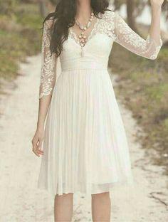 Yo quiero este vestido para mi boda por el civil!!!