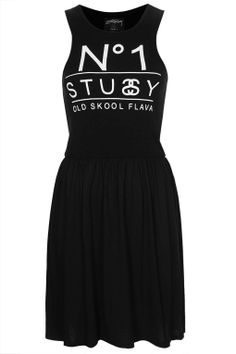 Tank Style Dress by Stussy - Dresses - Clothing - Topshop