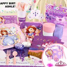 Disney Junior Sofia the First Party Packs, 88415