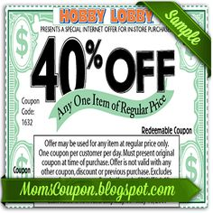 Joann's 50 off coupon