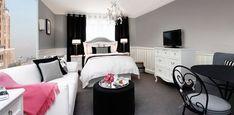 Small bedroom w elegant decorations | Bedroom Ideas for Small Rooms » Enchanting Elegant Modern Bedroom ...