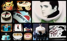'Edible ELVIS'   B'Day Cakes   part 1 (past years)