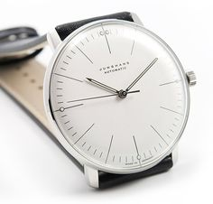 My beloved first (and so far, only) mechanical watch, the Junghans Max Bill automatic.