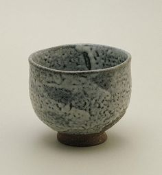 SHIGA Shigeo (Japan, Australia 1928–2011) Title Tea bowl with ash glaze