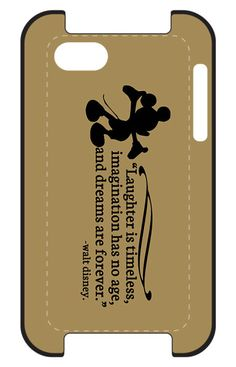 """""""Laughter Is Timeless"""" Walt #Disney iPhone or iPod Case"""