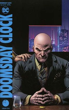 Doomsday Clock Cover B Variant Gary Frank Cover Frank Miller, Alex Ross, Comic Book Covers, Comic Books Art, Comic Art, Book Art, One Punch Man, Gotham City, Dc Comics