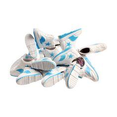 Kickin' Doll Shoe Bracelet Blue