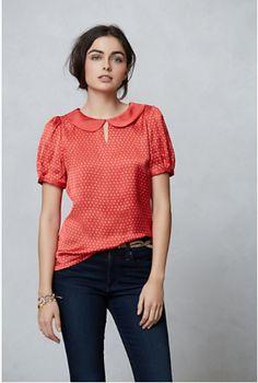 bliss blog - i heartmonday: anthropologie blouse