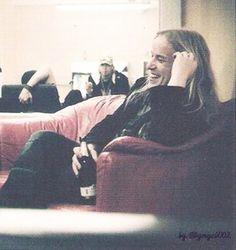 Smiling Angel!♥ #Nightwish #Guitarist #PowerMetal #SymphonicMetal #Angel #Love #Smile Symphonic Metal, Power Metal, My Crush, Crushes, Angeles, Band, Night, My Love, Celebrities