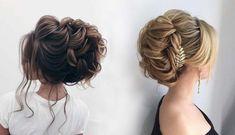 Top 20 Elstile Wedding Hairstyles for Long Hair   Roses & Rings #weddings #weddingideas #hairstyles #weddinghair