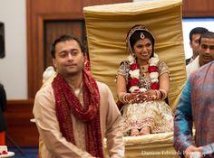 indian wedding ceremony bride doli gold http://maharaniweddings.com/gallery/photo/11359