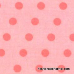 Fabric... A Walk in the Woods Simple Dots in Pink by Aneela Hoey