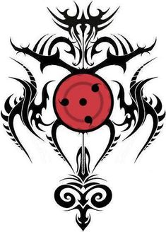 Sharingan tattoo. Holy crap! My husband has that. I thought he made that design? Guess not....