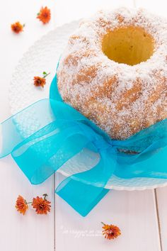 Coconut and orange bundt cake