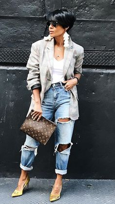 Best Casual Fall Outfits Part 22 Chic Outfits, Fall Outfits, Fashion Outfits, Womens Fashion, Fashion Trends, Jeans Fashion, Fashion Sale, Sweater Outfits, Fashion Bloggers