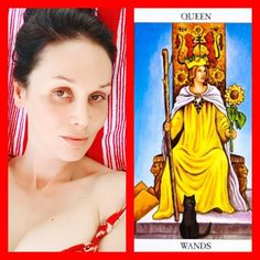 What card do you use as a #signifier in your #tarotreadings ?who represents you best? I choose #queenwands. Use her if you are a fire sign female #Aries #leo #saggitarius or the energy of the Firesigns and Queen of the Wands calls to you. #twitter