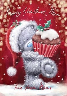 Christmas Crafts, Christmas Decorations, Christmas Ornaments, Holiday Decor, Blue Nose Friends, Bear Pictures, Tatty Teddy, Cute Teddy Bears, Christmas Scenes