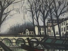 Bernard Buffet - The Canal, 1967