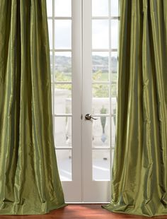 Exclusive Faux Silk Curtains, Drapes & Window Treatment - Half Price Drapes