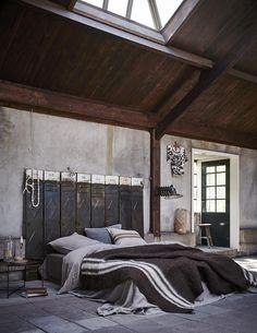 Modern wabi sabi sleeping space
