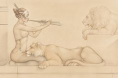 Artifacts Gallery - Lions Song By Michael Parkes