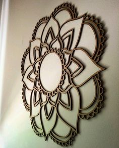 Minha mandala linda por by libernardinelli Laser Art, Laser Cut Wood, Laser Cutting, Laser Cutter Ideas, Laser Cutter Projects, Cnc Wood, Wood Router, Cnc Router, Mastectomy Tattoo