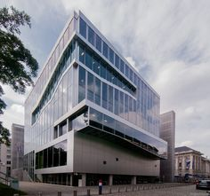 Netherlands Embassy, Berlin designed by OMA. Office Building Architecture, Minimal Architecture, Architecture Images, Contemporary Architecture, Office Buildings, Rem Koolhaas, Future City, Netherlands, Facade