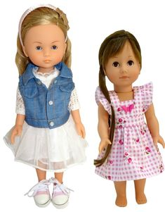 Looking for Doll Clothes & Shoes for Gotz Just Like Me & Corolle Les Cheries Dolls? American Girl Wellie Wishers, Wellie Wishers Dolls, Size Clothing, Searching, Doll Clothes, Range, Slim, Summer Dresses, Disney
