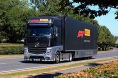 Mercedes Benz Trucks, Oil Rig, Motorhome, F1, Race Cars, Transportation, Racing, Photography, British