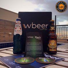 ALÔ ALÔ  ___ A Laje volta de férias lotada de coisas lindas como esse beerbox da @wbeeroficial pra compartilhar com vocês! ___ Aqui temos cervejas exclusivas da parceria com a Carlsberg Group!  ___ Trouxeram de lá a @kronenbourgsg mais vendida na França  e a @grimbergen uma das mais antigas da Bélgica !! ___ Muito obrigado pelo presente amigos! Assim que degustar compartilharei com todos as experiências sensoriais  Cheers!!  #beer #birra #breja #cerveza #cerveja #cervejaartesanal…