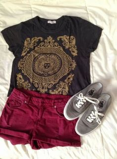 Shorts With Sneakers